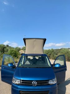 VW CALIFORNIA BEACH 4 MOTION
